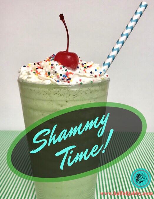 Healthy Shamrock Shakes!