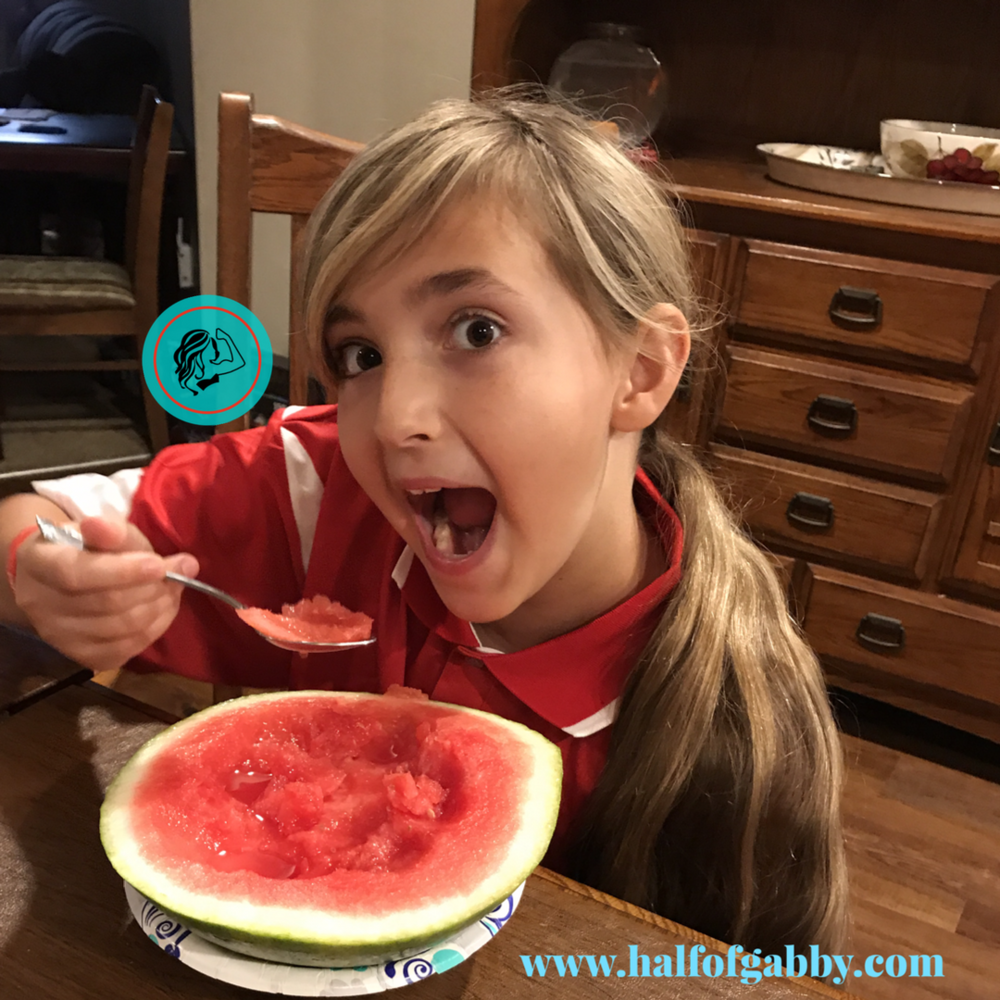 How To Pick The Perfect Watermelon: Half of Gabby