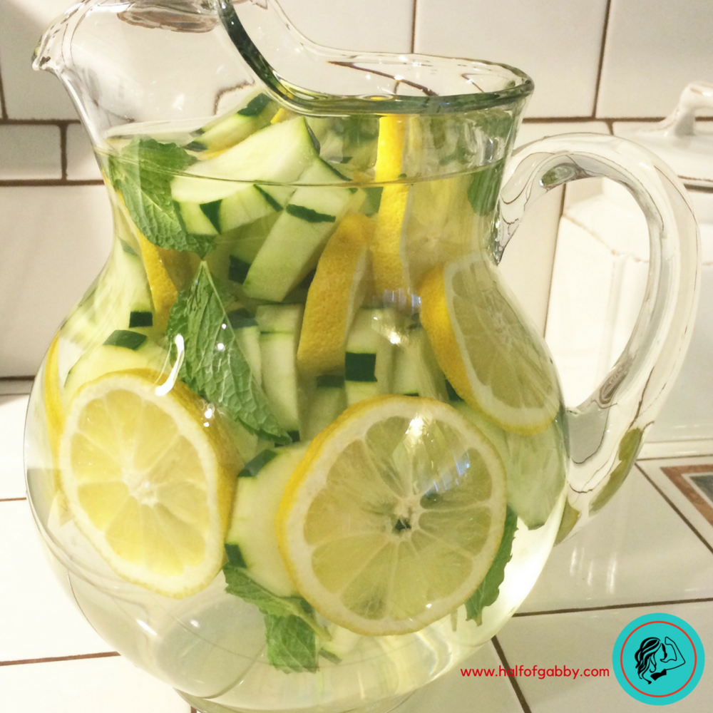Detox Water: Lemon Cucumber Mint Recipe