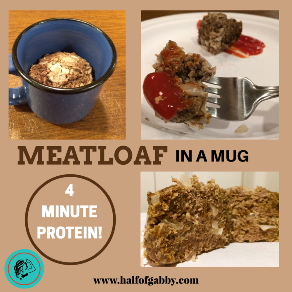 4 Minute Protein: Meatloaf in a Mug Recipe