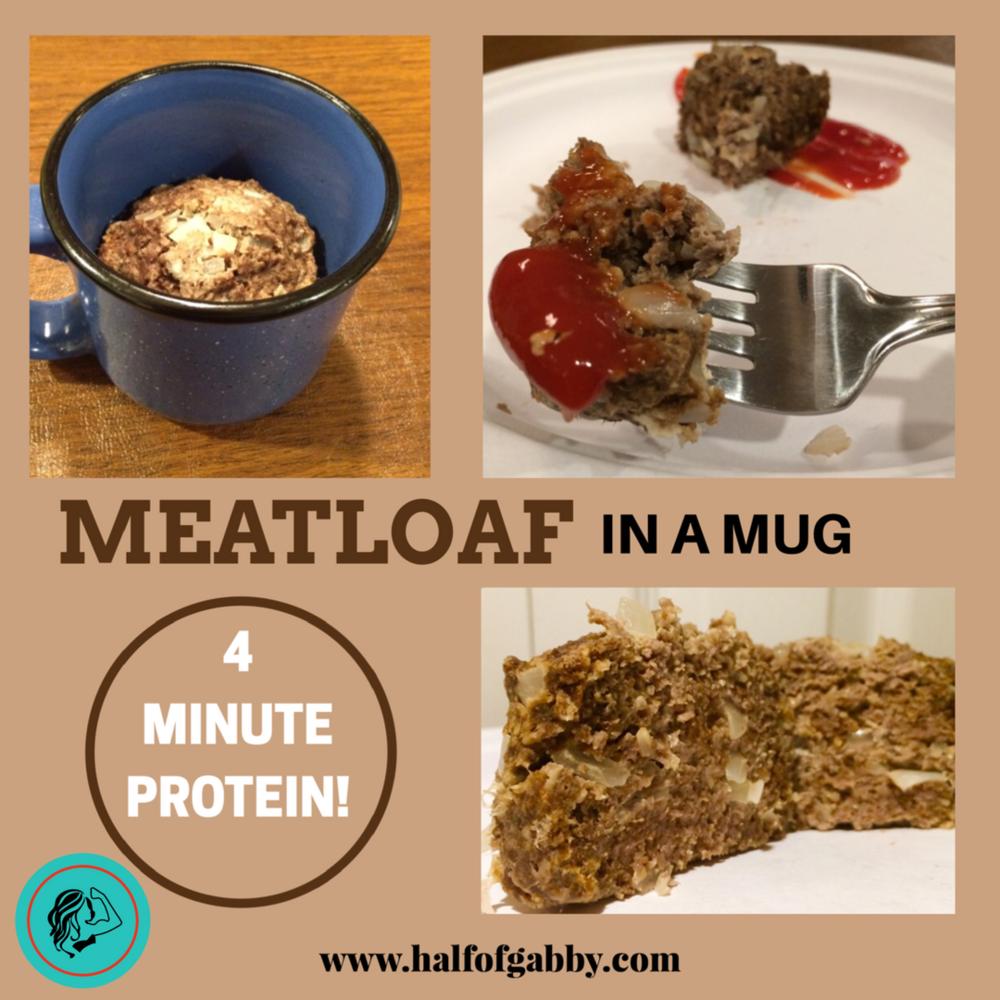 4 Minute Protein: Meatloaf in a Mug Recipe