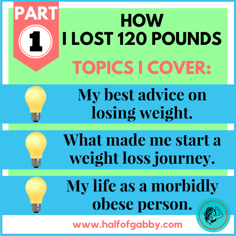How I Lost 120 Pounds: Part 1