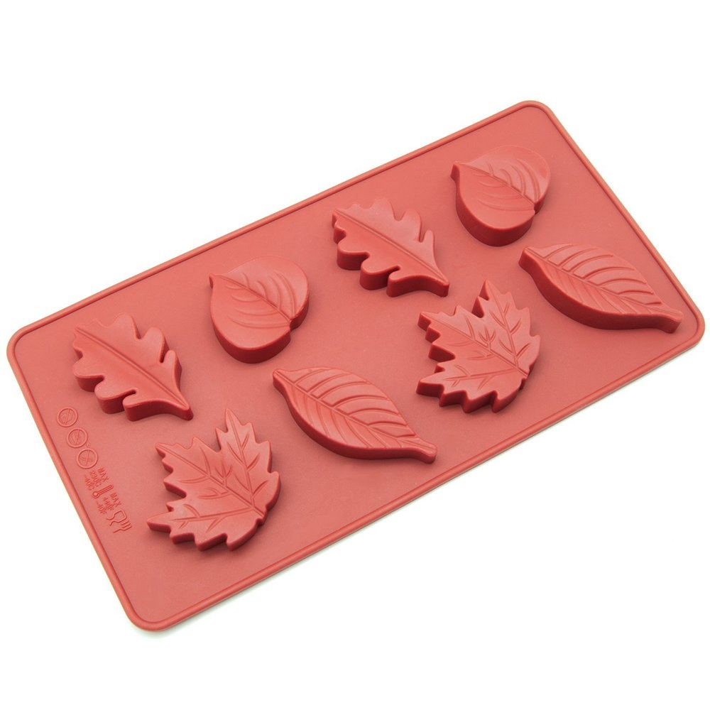 Fall Leaves Silicone Mold