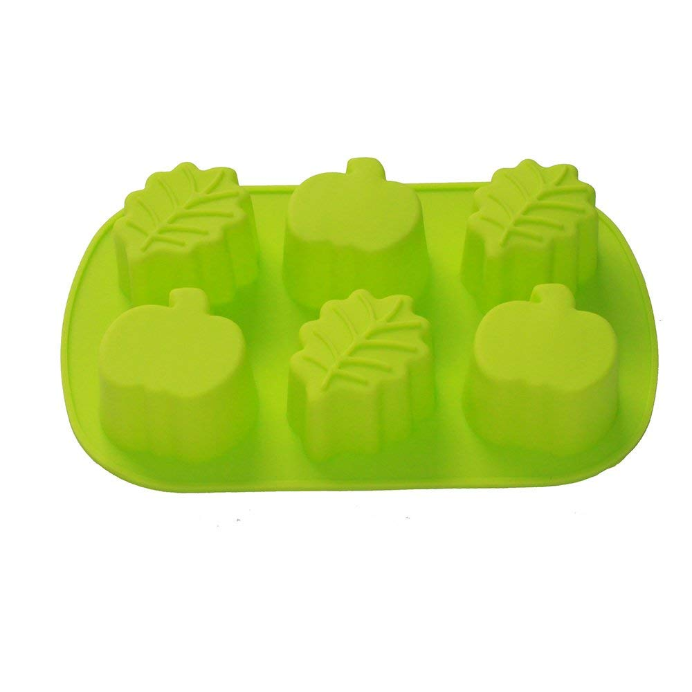 Pumpkin & Fall Leaves Silicone Mold