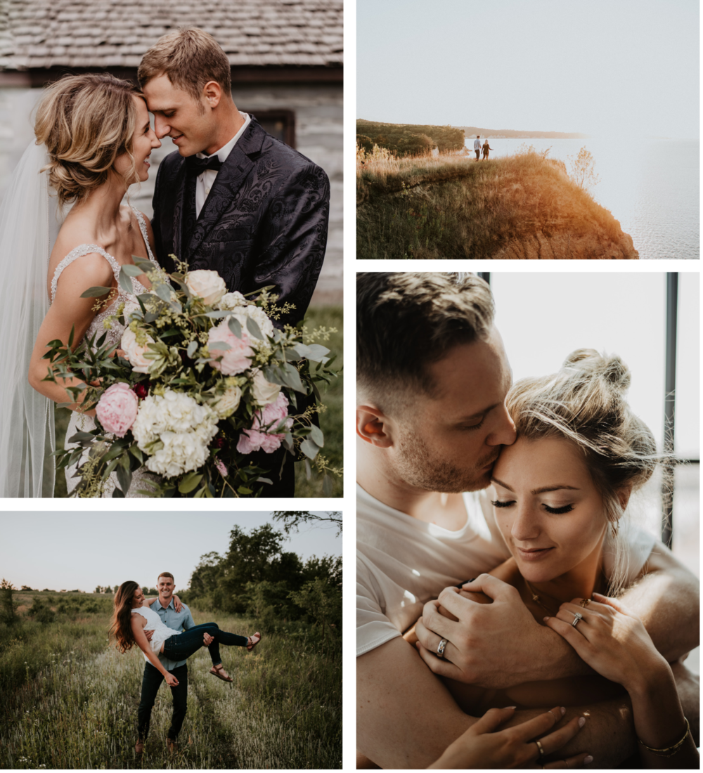 Nebraska Wedding and Engagement Photographer based in Grand Island Kaylie Sirek