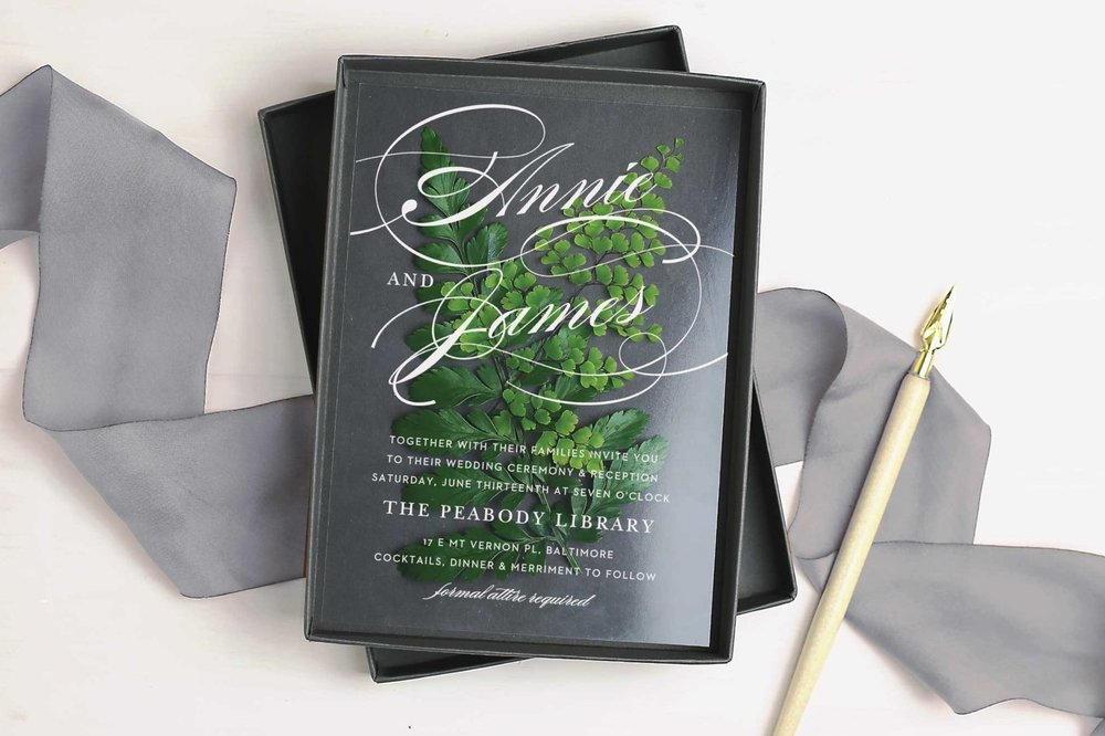 Create Custom Wedding Invitations with Basic Invite Kaylie Sirek