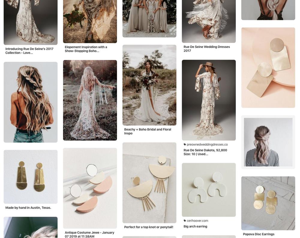 Boho Wedding Style Inspiration on Pinterest