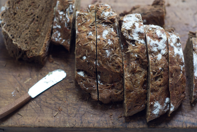 Scandanavian Black Bread