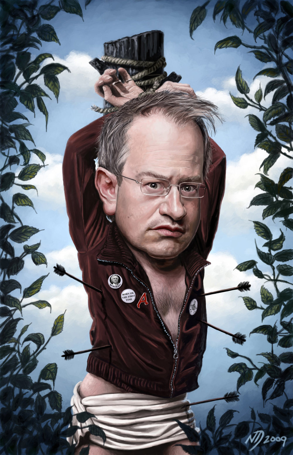 Robin Ince by Neil Davies