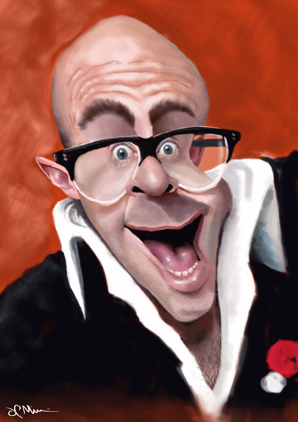 Harry Hill by J P McCarthy