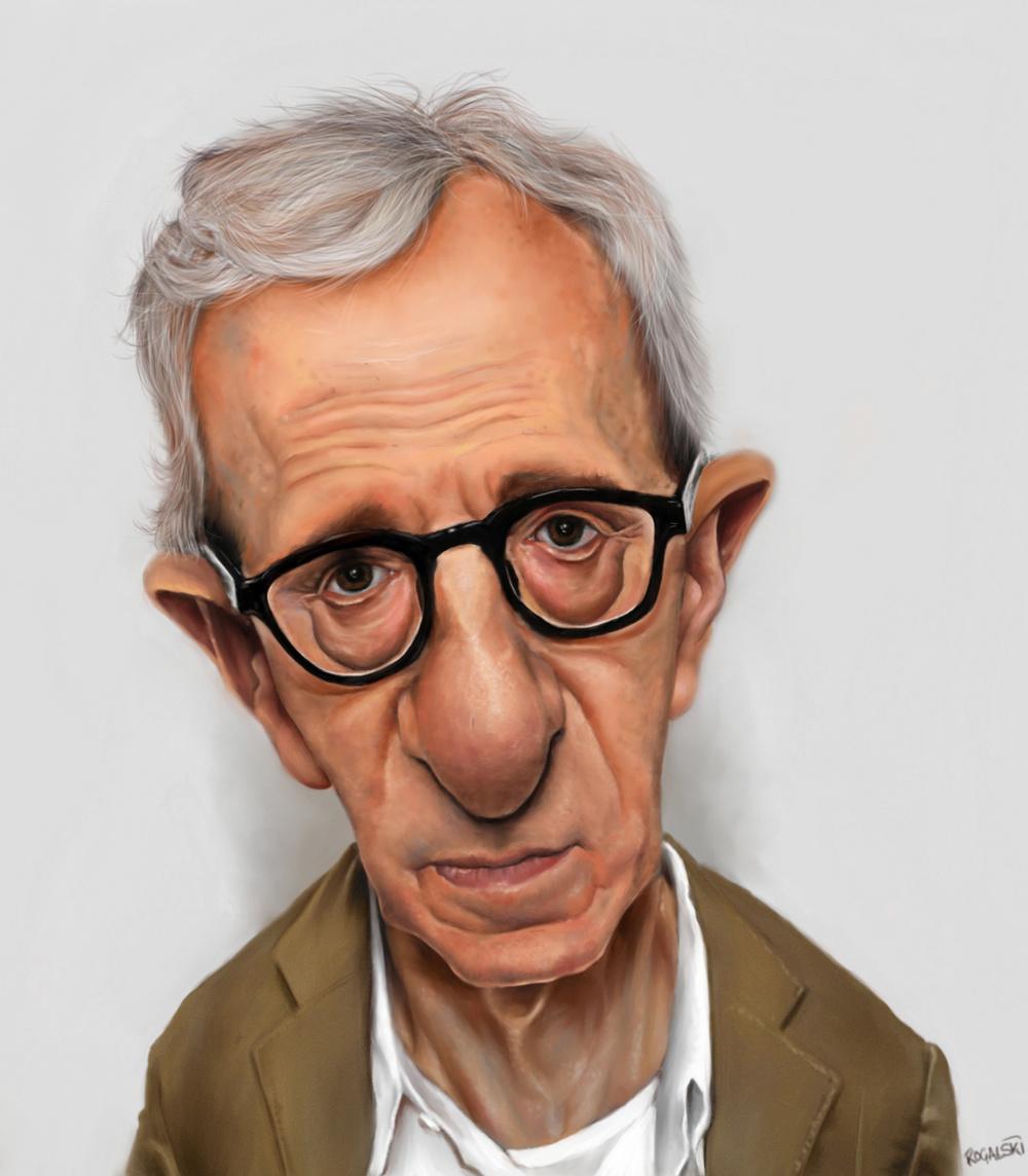 Woody Allen by Craig Rogalski