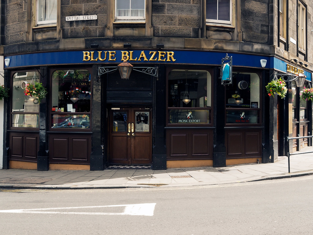 Blue Blazer Public House - built in 1867 Corner of Bread Street