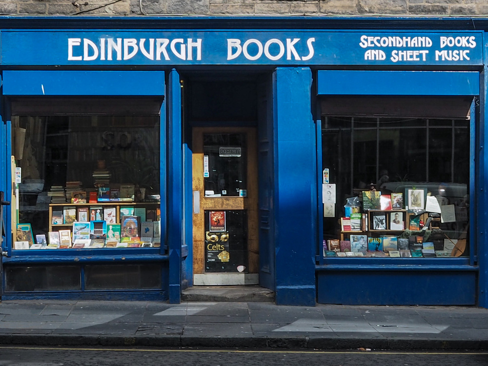 Edinburgh Books - second hand and antiquarian books West Port