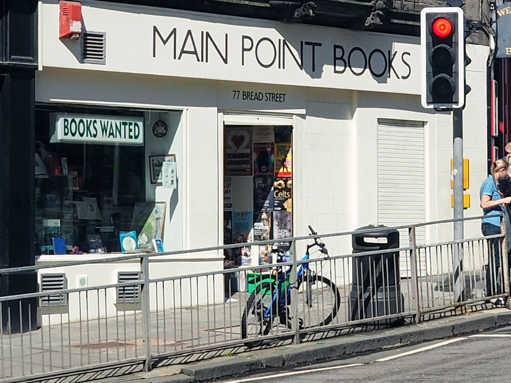 Main Point Books - interesting re-reads and collectable books Bread Street