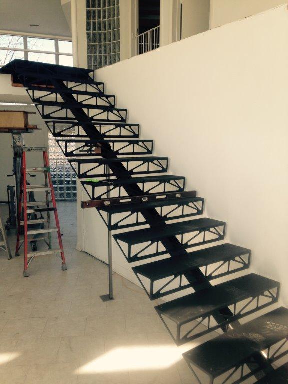 Custom Metal Staircase