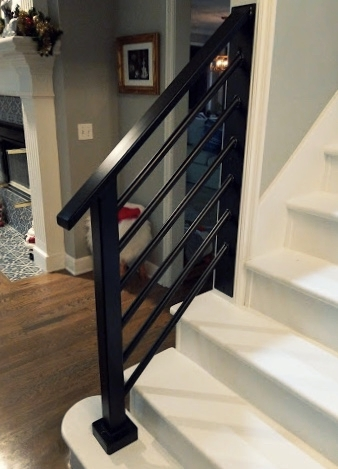 Black Iron Handrail
