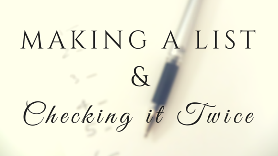 making a list and checking it twice a guide to grant readiness