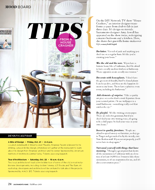 Tips from a House Crasher - Sacramento Home Magazine