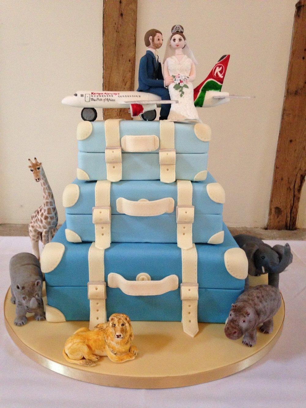 Kitty's cakes wedding cake