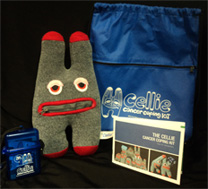 Cellie Coping Kit for kids living with chronic illness - Click on photo to order