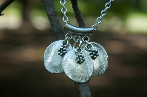 Fingerprint jewelry makes a lovely legacy keepsake.