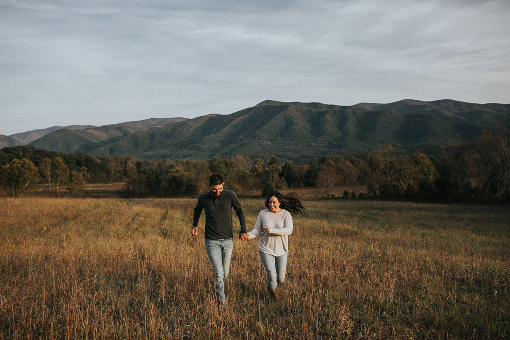 CADES COVE - There's nothing like a romp through the GSMNP. Travel: 1.5 hours from Knoxville (also I STRONGLY recommend shooting on a weekday to avoid traffic insanity).