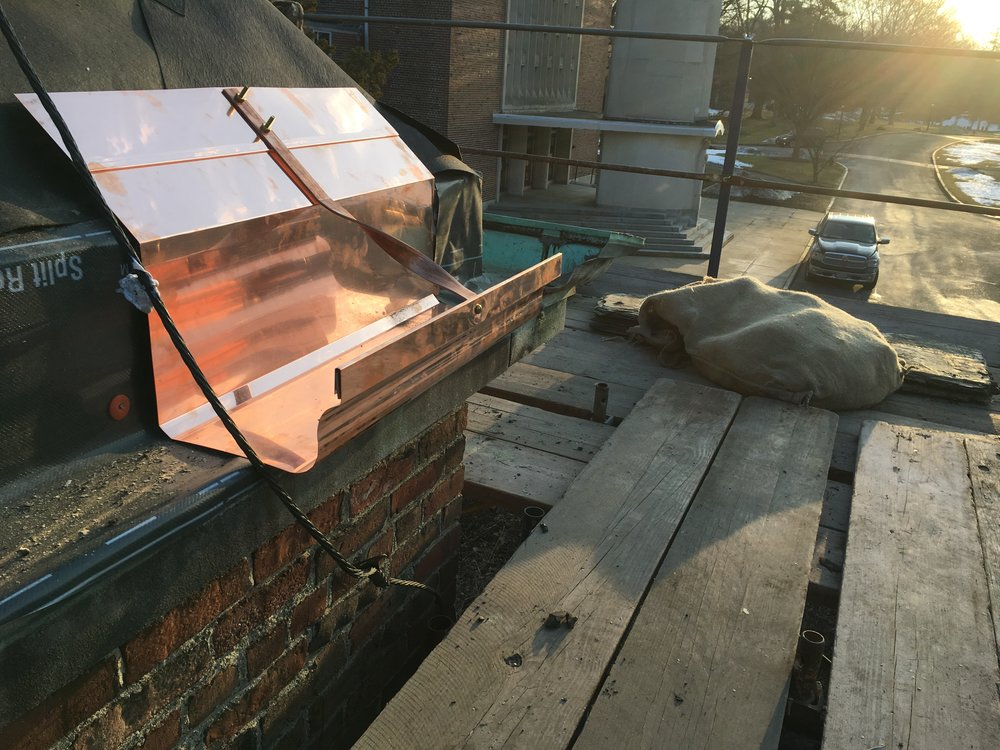 Progress: Copper Gutter