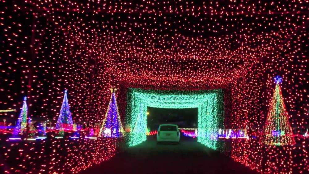 Utah Limo Holiday Light Tour