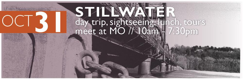 Oct 31 - Stillwater