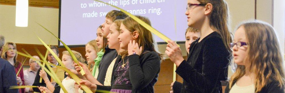 Mount Olivet Palm Sunday Children's Choir