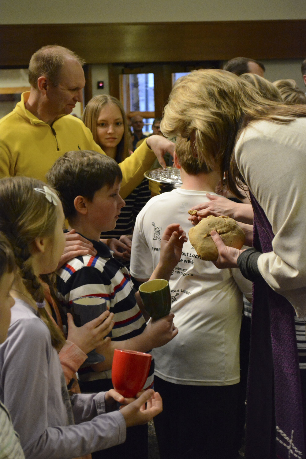 Communion Milestone at Mount Olivet
