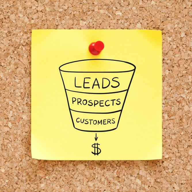 Sales funnel - lead gen - marketing strategy from The Stylish Marketer