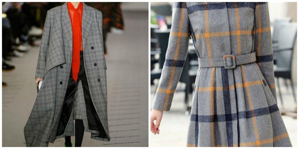 Left: Balenciaga, right: StyleWe