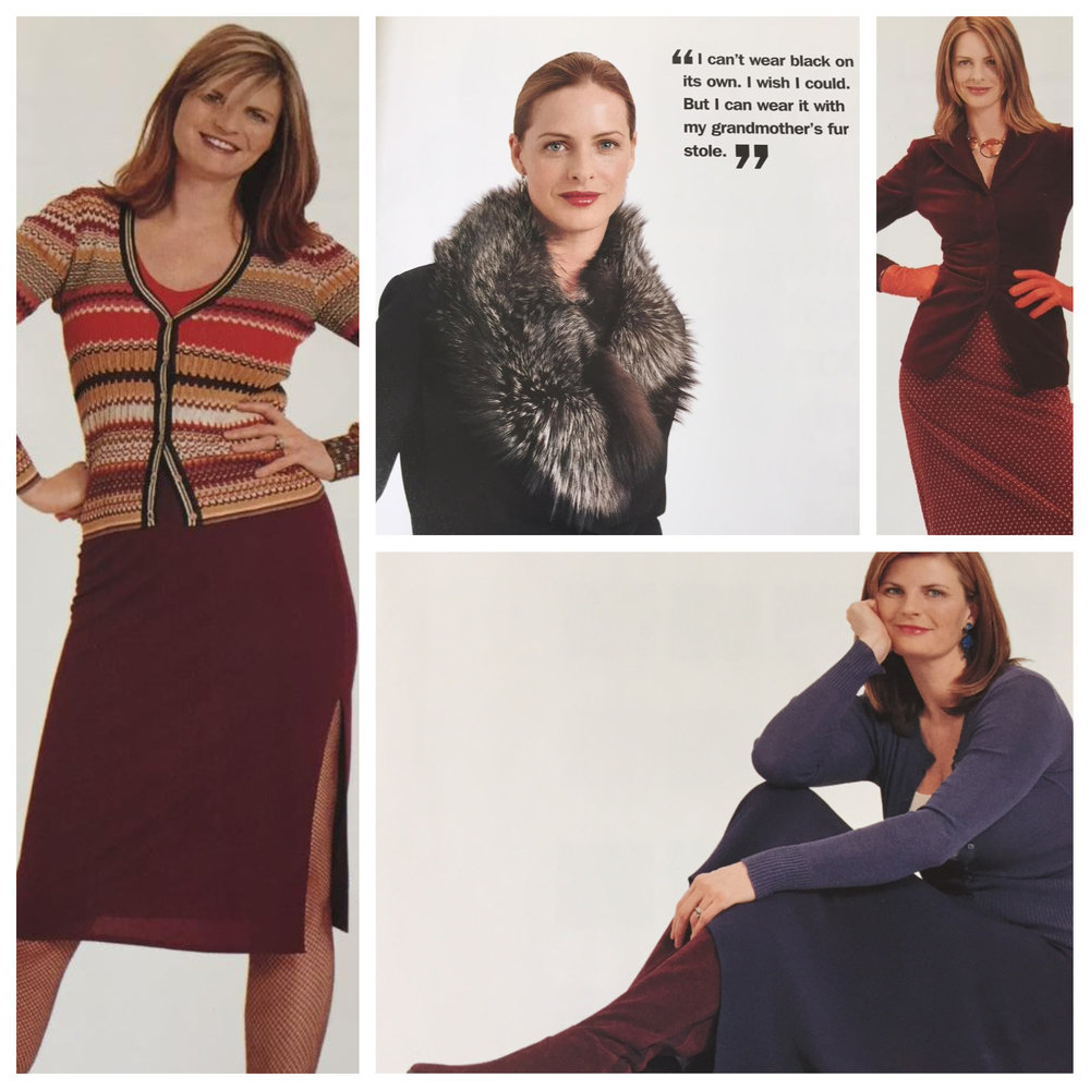 "From ""Trinny and Susannah What You Wear Can Change Your Life"" 2004"