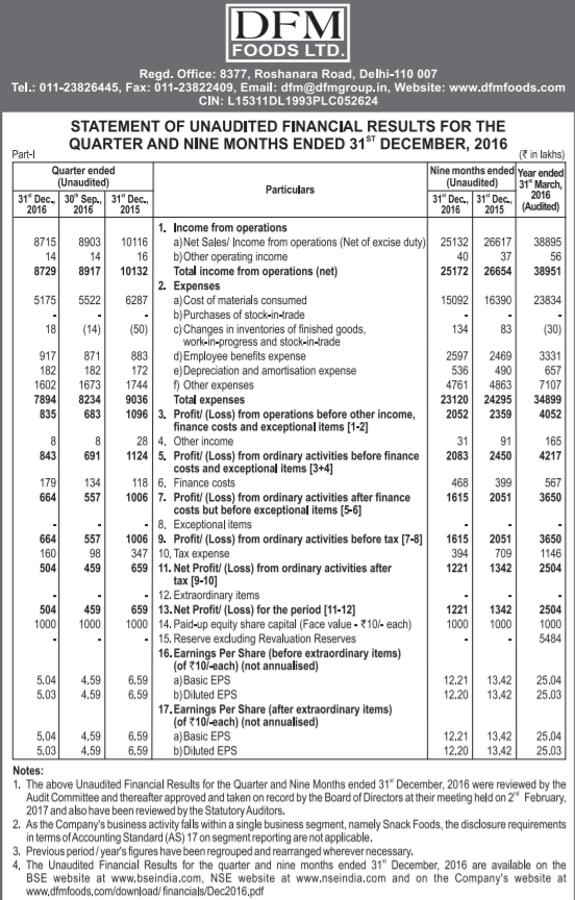 DFM Foods Q3FY17 Financial Performance.png