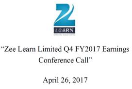 Q4FY17 Concall Transcript
