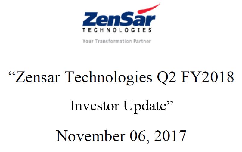 Q2FY18 Invetsor update
