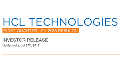 Q1FY18 Investor Release
