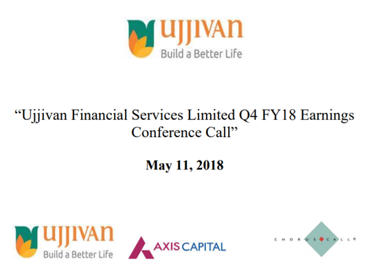 Q4FY18 Concall ppt
