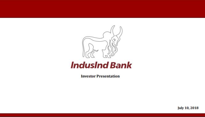 Q1FY19 Investor ppt