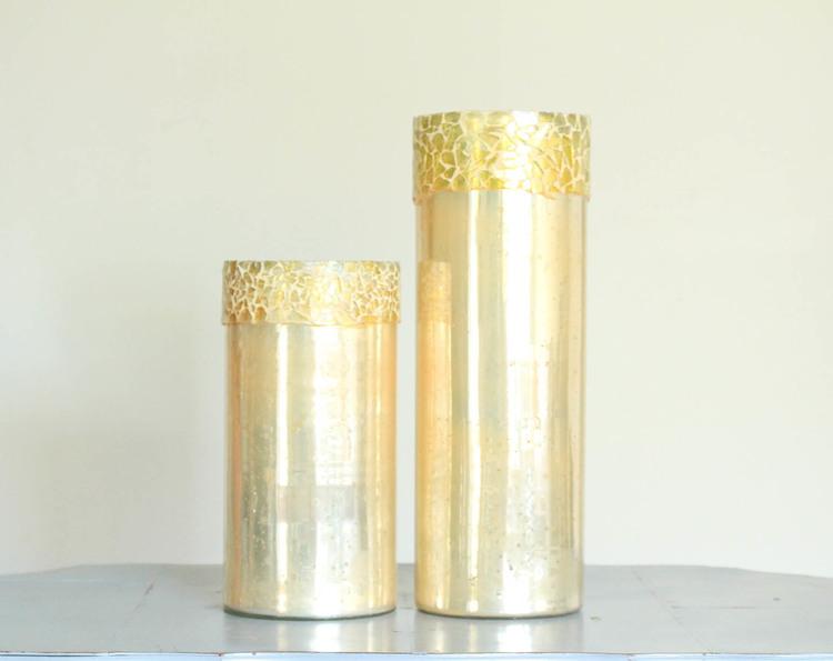 Gold Cylinder Vase Provision Design Methods