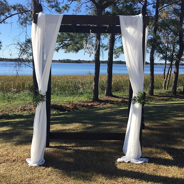 What a beautiful day Charli and John chose to say I Do!  Thank you for allowing #PDM to be a part of your big day!  #nofilter #watermarkmarina #provisiondesignmethods #arbor #wilmingtonweddings