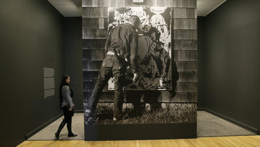 """""""Jackson Pollock: The Black Paintings"""" runs to March 20 at the Dallas Museum of Art."""