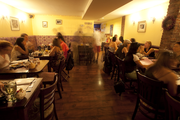 Main dining room, Alice's Tea Cup Chapter i