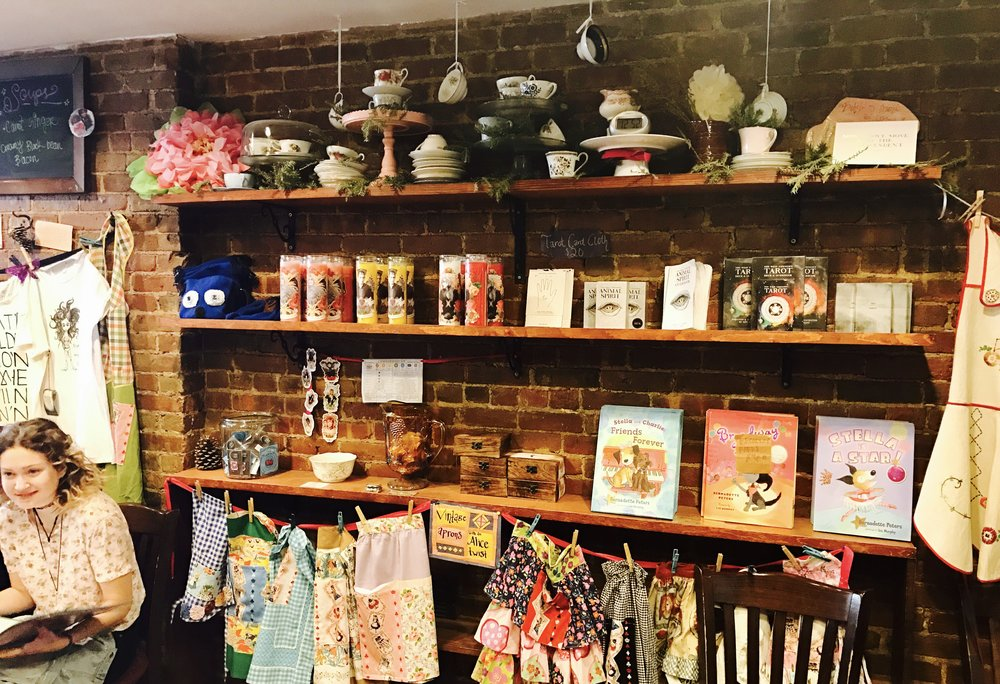 Merch Wall, Alice's Tea Cup Chapter i