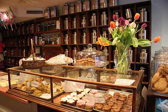 The Tea Wall and Scone Case, Alice's Tea Cup Chapter i