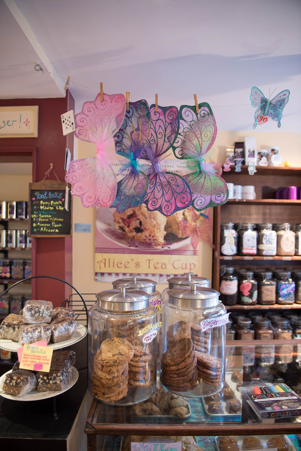 Bakery Case and Merch Wall, Alice's Tea Cup Chapter ii