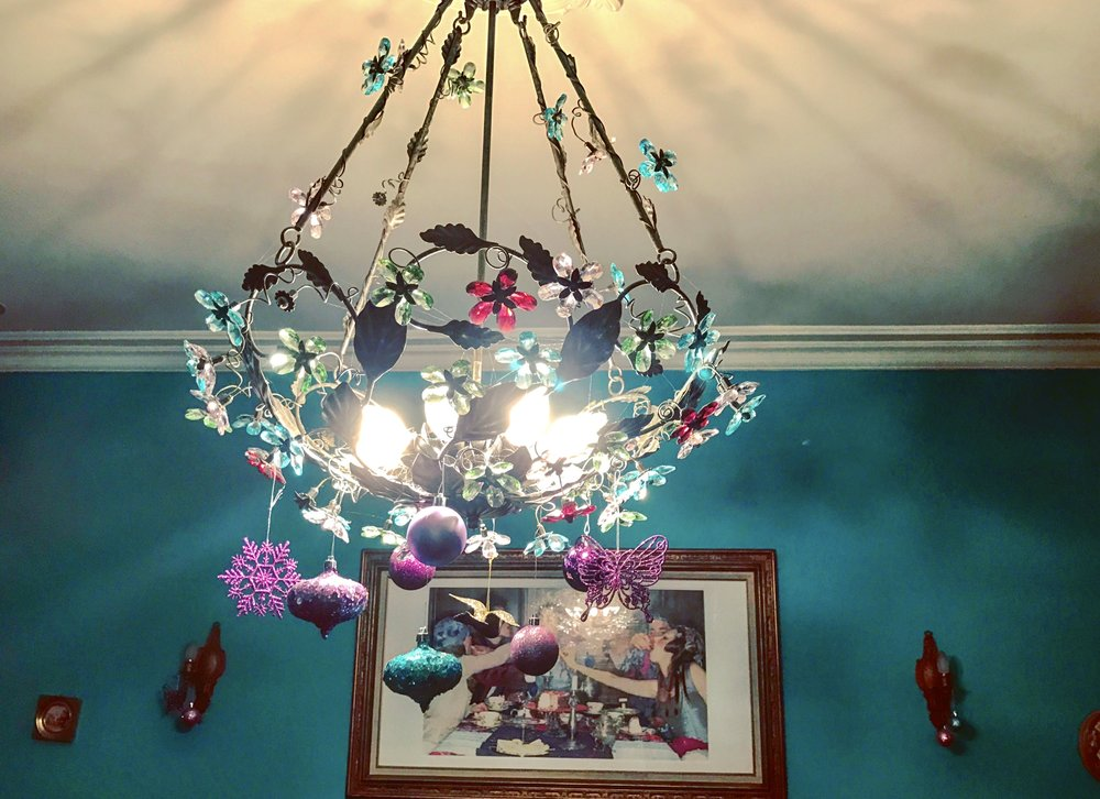Chandelier, Looking Glass Room, Alice's Tea Cup Chapter ii