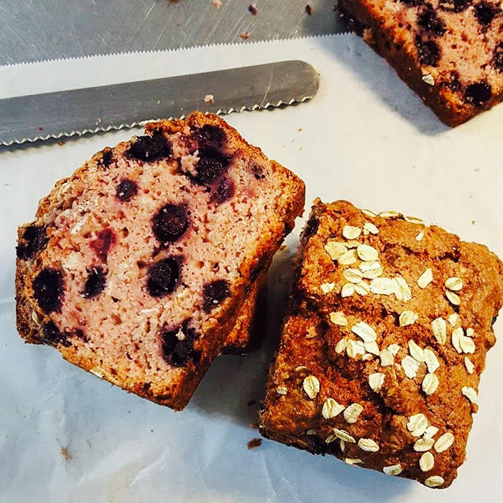 Mixed Berry Oatmeal Loaf