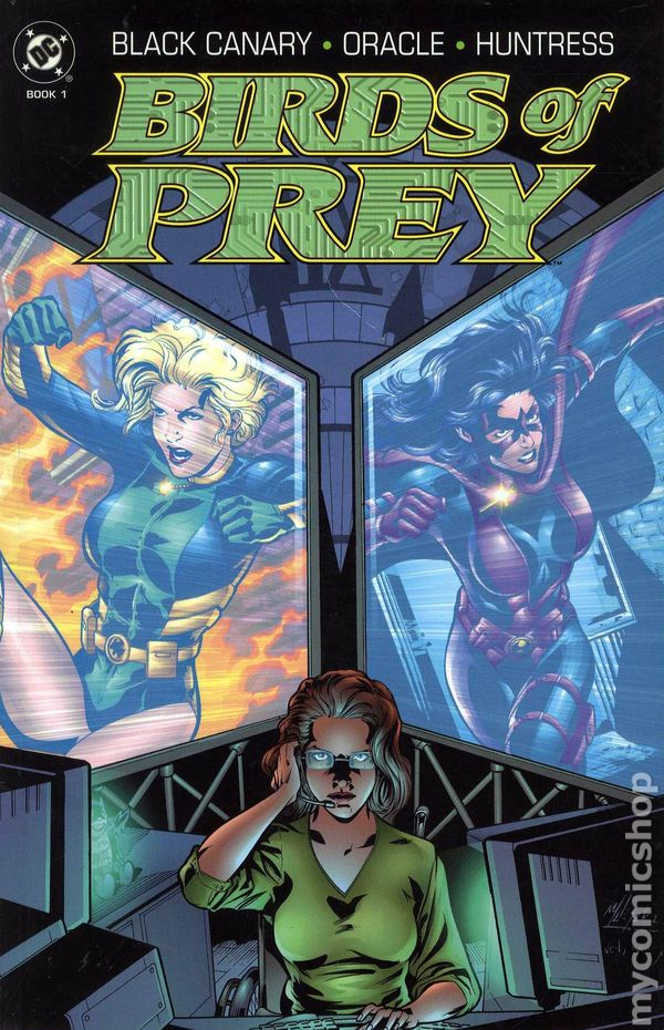 Birds of Prey, at first by Chuck Dixon but made famous by Gail Simone!